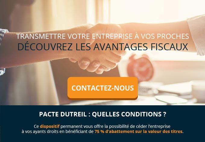 Pacte Dutreil Pour La Transmission De Son Patrimoine Pro