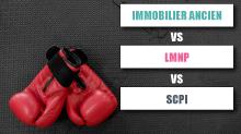 comparatif SCPI / LMNP / IMMOBILIER ANCIEN